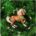 2001 Porcelain Carousel Ornament