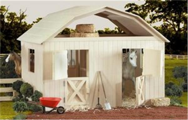 Anderson Windows Reviews >> Breyer traditional two stall horse barn 305