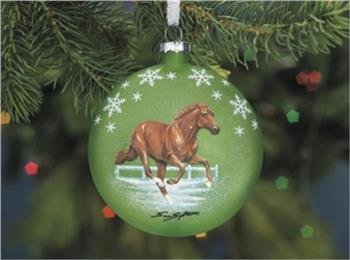 Breyer Christmas Horse and Ornaments