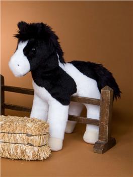 Valiant Black White Paint Horse
