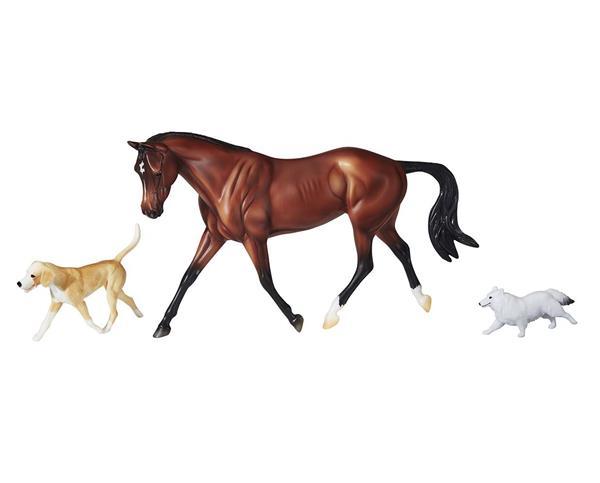 Breyer Protocol Legendary Hunter horse